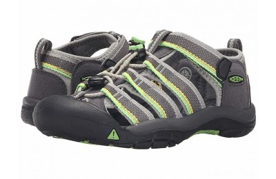 Keen Kids Newport H2 (Little Kid/Big Kid) Racer Gray