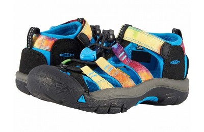 Keen Kids Newport H2 (Toddler/Little Kid) Rainbow Tie-Dye