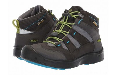 Keen Kids Hikeport Mid WP (Little Kid/Big Kid) Magnet/Greenery