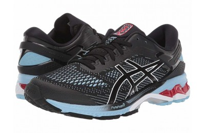 ASICS GEL-Kayano® 26 Black/Heritage Blue - SALE