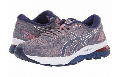 ASICS GEL-Nimbus® 21 Lavender Grey/Dive Blue - SALE