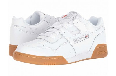 Reebok Lifestyle Workout Plus White/Carbon/Classic Red/Reebok Royal/Gum - SALE