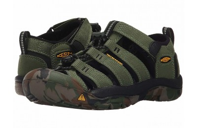 Keen Kids Newport H2 (Little Kid/Big Kid) Crushed Bronze Green