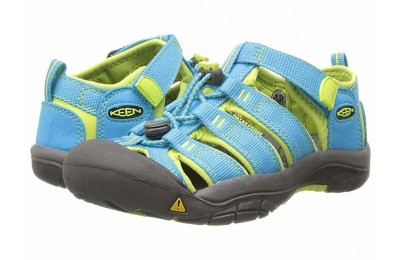 Keen Kids Newport H2 (Little Kid/Big Kid) Hawaiian Blue/Green Glow