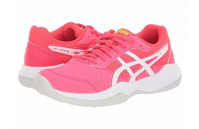 ASICS Kids Gel-Game 7 (Little Kid/Big Kid) Laser Pink/White - SALE