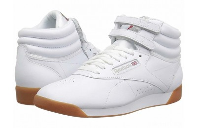 Reebok Lifestyle Freestyle Hi White/Gum - SALE