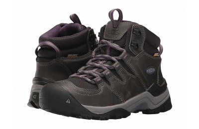 Keen Gypsum II Mid Waterproof Earl Grey/Purple Plumeria