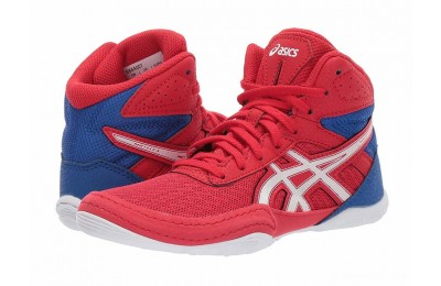 ASICS Kids Matflex 6 (Toddler/Little Kid/Big Kid) Classic Red/White - SALE