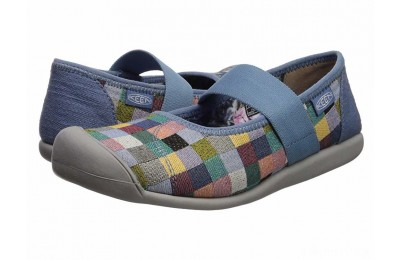 Keen Sienna MJ Canvas Multi/Quiet Harbor