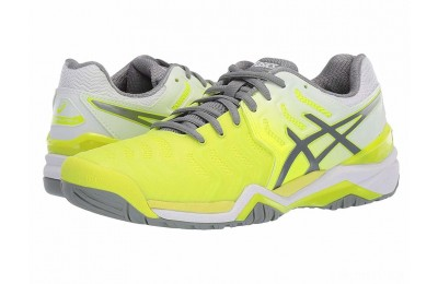 ASICS Gel-Resolution 7 Safety Yellow/Stone Grey - SALE