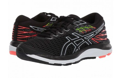 ASICS Kids Gel-Cumulus 21 (Big Kid) Black/White - SALE