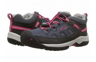 Keen Kids Targhee Low (Little Kid/Big Kid) Blue Nights/Vivacious