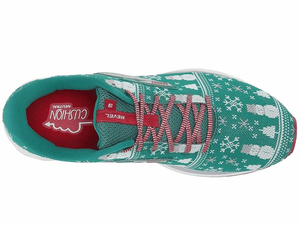 Brooks Revel 3 Green/Red/Silver - SALE