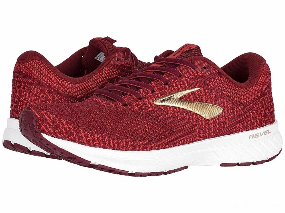 Brooks Revel 3 Rumba Red/Teaberry/Gold - SALE
