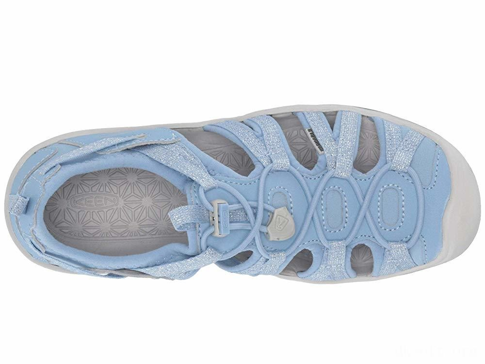 Keen Kids Moxie Sandal (Little Kid/Big Kid) Powder Blue/Vapor