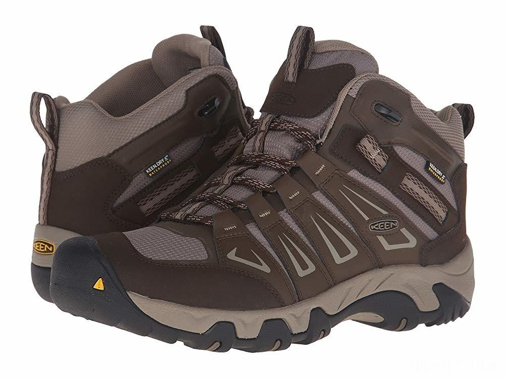 Keen Oakridge Mid Waterproof Cascade/Brindle