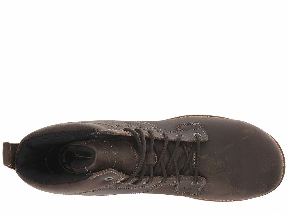 """Keen Utility Seattle 6"""" AT Waterproof Cascade Brown/Off-White"""