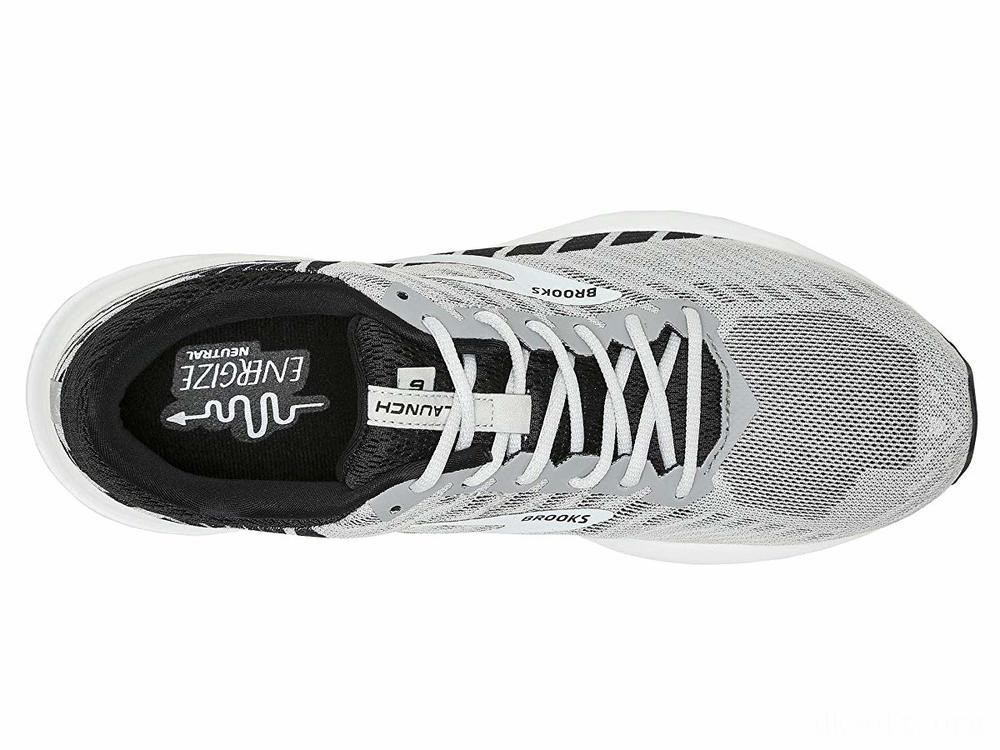 Brooks Launch 6 Alloy/Black/Grey - SALE