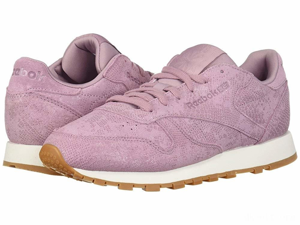 Reebok Lifestyle Classic Leather Infused Lilac/Chalk - SALE