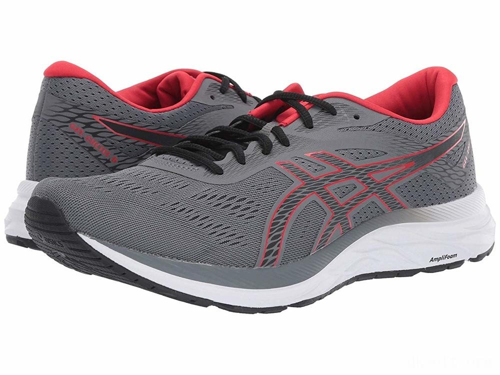 ASICS GEL-Excite® 6 Steel Grey/Classic Red - SALE