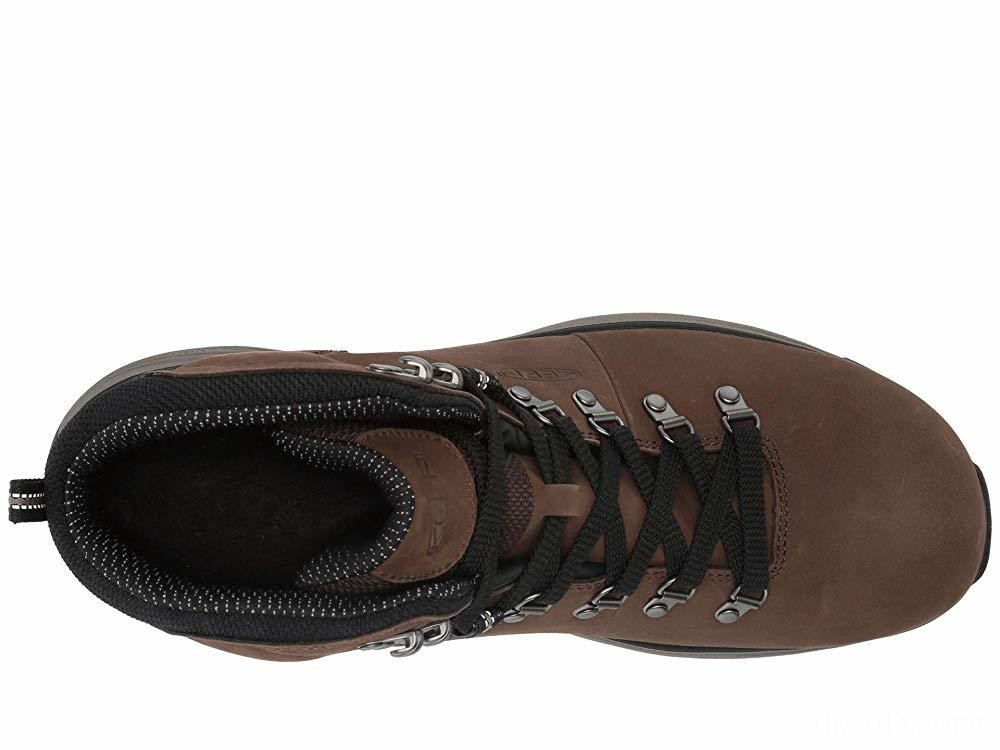 """Keen Utility Manchester 6"""" Soft Toe WP Cascade Brown/Brindle"""