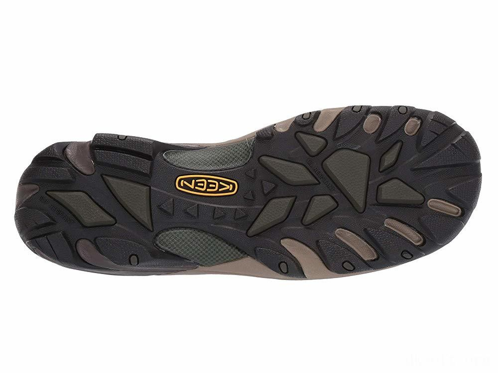 Keen Utility Atlanta Cool ESD Soft Toe Cascade Brown/Forest Night