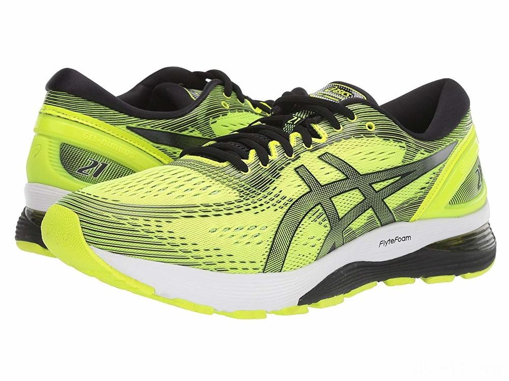 ASICS GEL-Nimbus® 21 Safety Yellow/Black - SALE