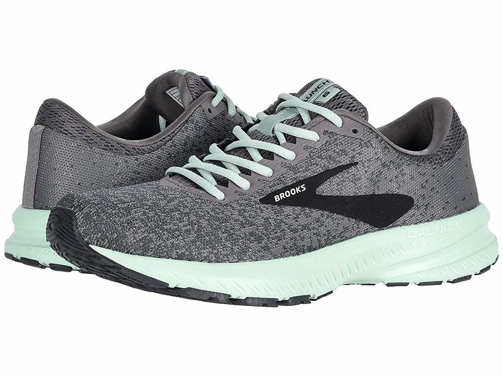 Brooks Launch 6 Shark/Aqua/Ebony - SALE