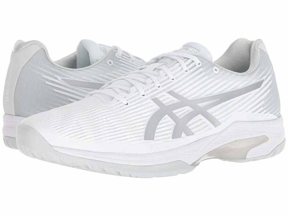 ASICS Solution Speed FF White/Silver - SALE