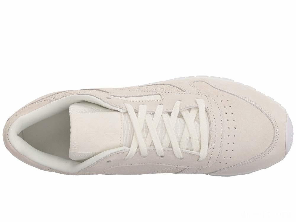 Reebok Lifestyle Classic Leather Woven Embossed Chalk/White - SALE
