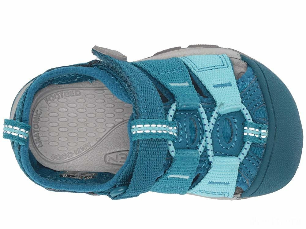 Keen Kids Newport H2 (Toddler) Deep Lagoon/Tahitian Tide