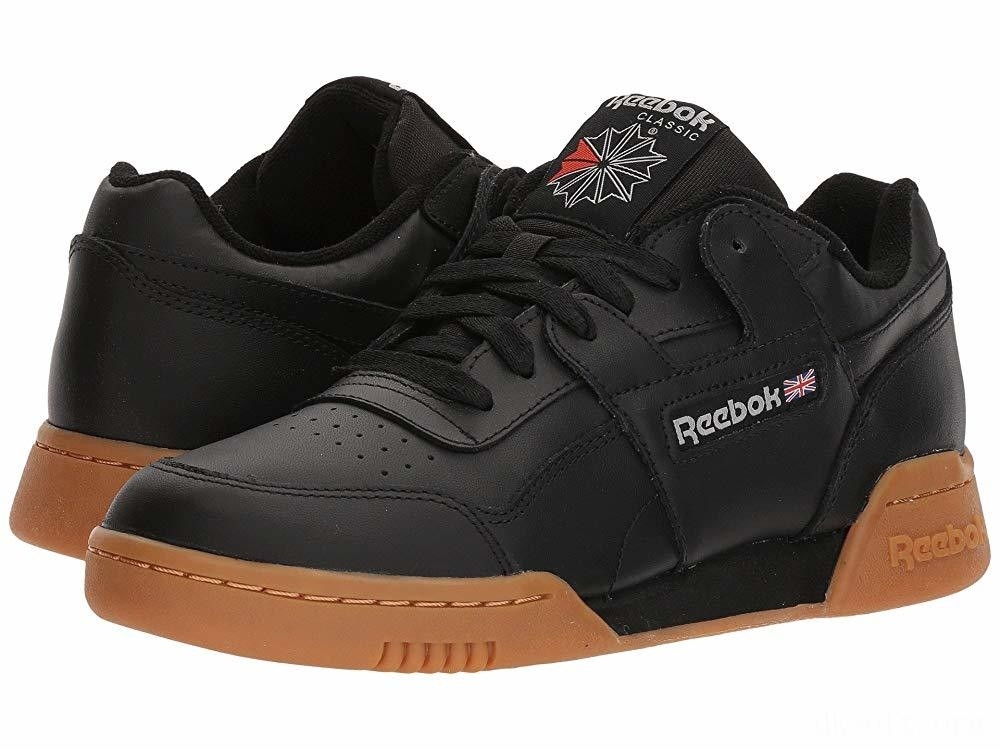 Reebok Lifestyle Workout Plus Black/Carbon/Classic Red/Reebok Royal/Gum - SALE