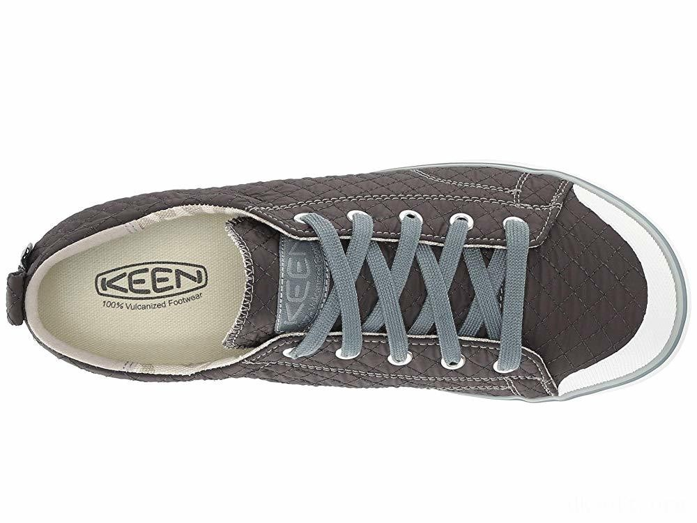 Keen Elsa II Sneaker Quilted Stormy Weather/Wrought Iron