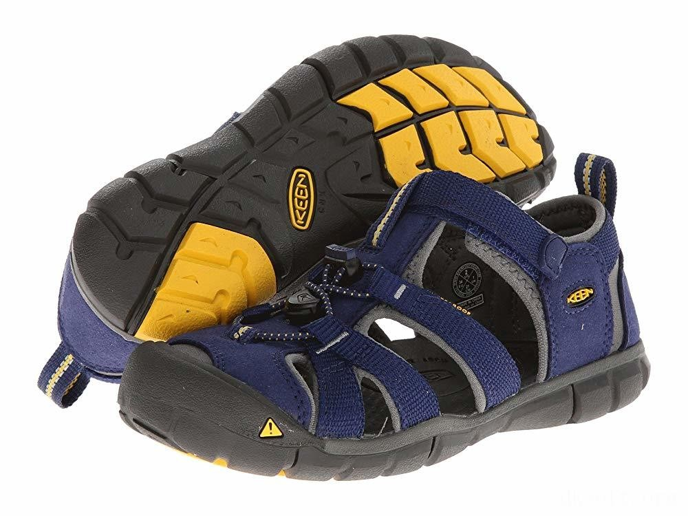 Keen Kids Seacamp II CNX (Little Kid/Big Kid) Blue Depths/Gargoyle
