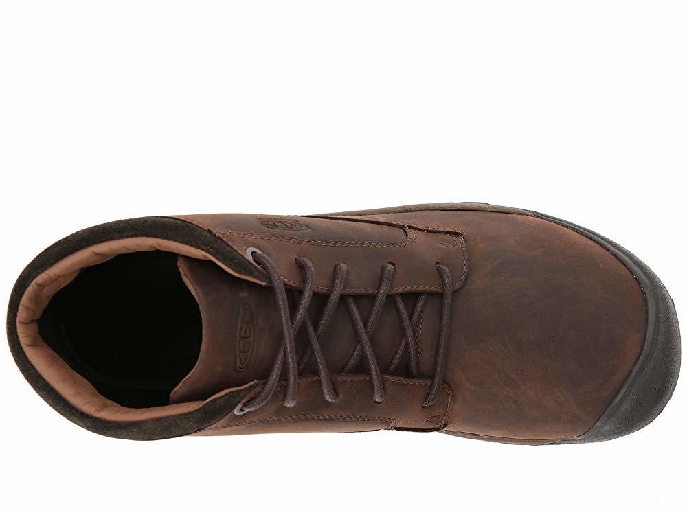 Keen Austin Casual WP Boot Chocolate Brown/Black Olive