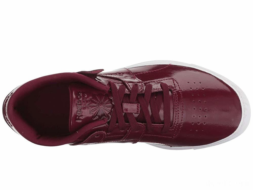 Reebok Lifestyle Workout Lo FVS Shiny Suede/Rustic Wine/White - SALE