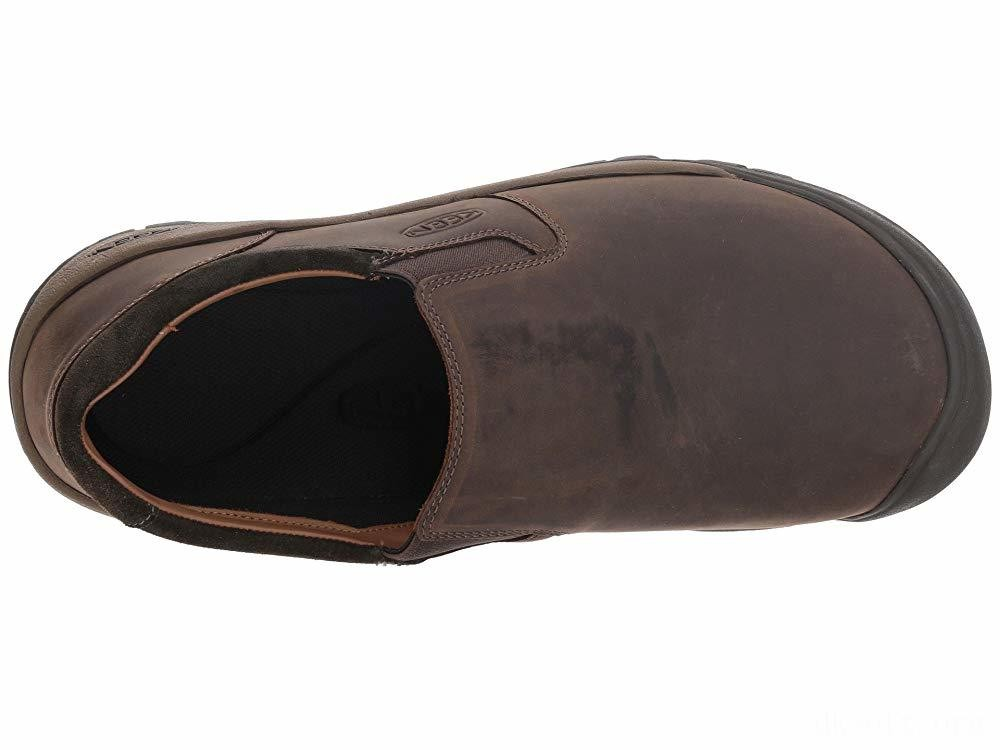 Keen Austin Casual Slip-On Chocolate Brown/Black Olive